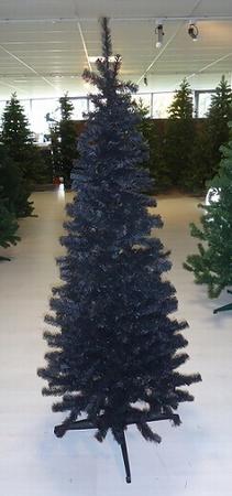 Kunstkerstboom Silhouette Zwart 210 cm