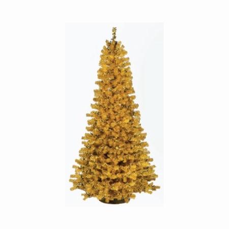 Kunstkerstboom Slimline goud 210 cm