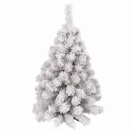 flocked kunstkerstboom mala 40