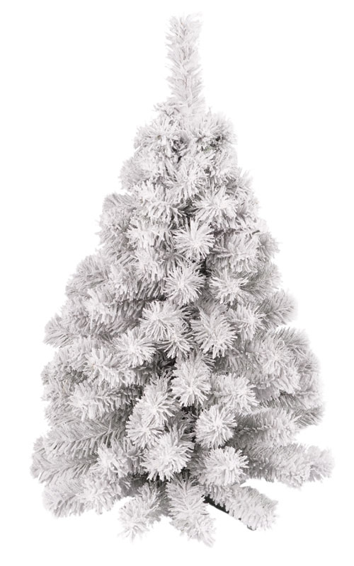flocked kunstkerstboom mala 60