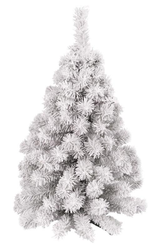 flocked kunstkerstboom mala 80