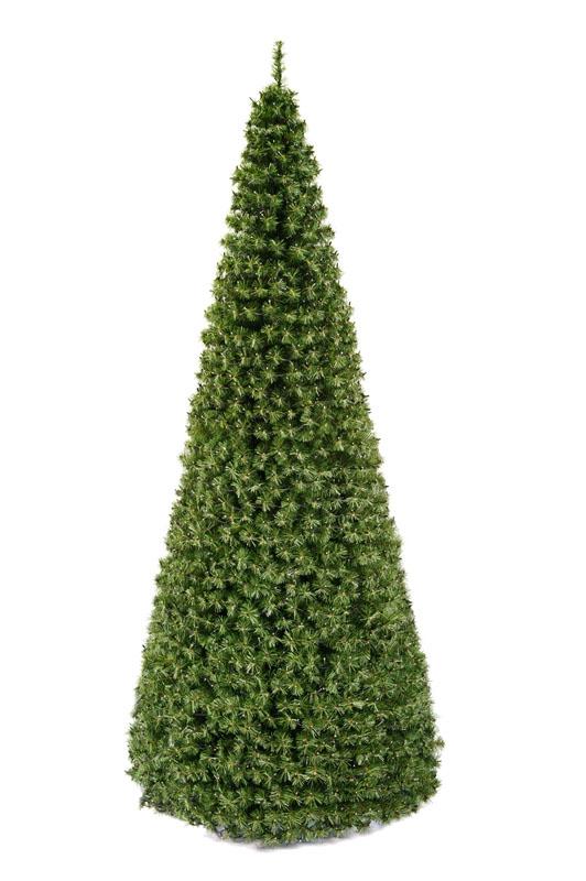 Grote Kunstkerstboom Standaard 16,3 meter