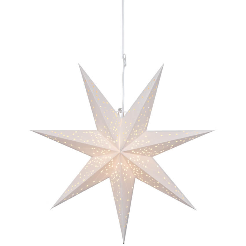 Kerstster Galaxy Wit