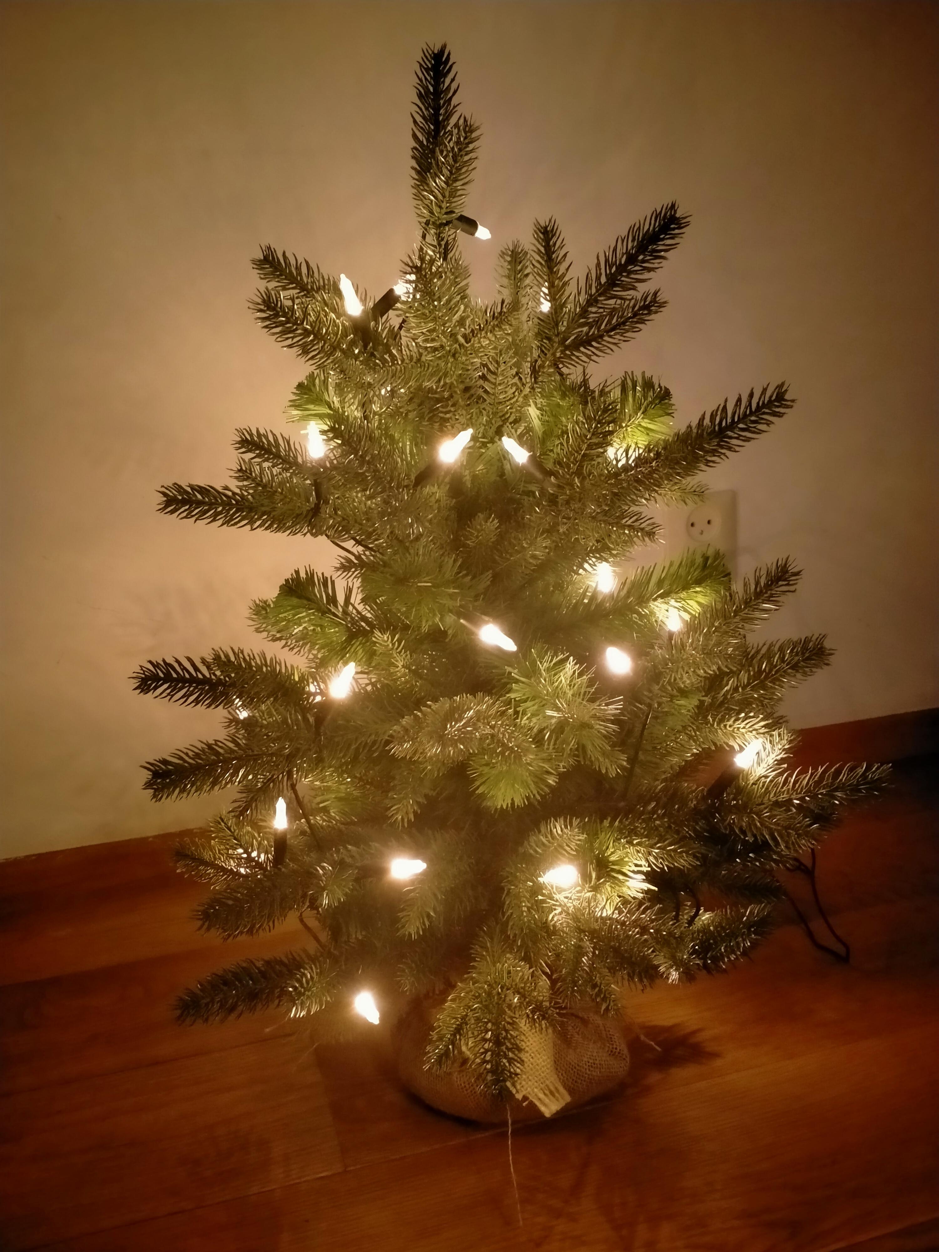 Kleine kunstkerstboom Premium 60