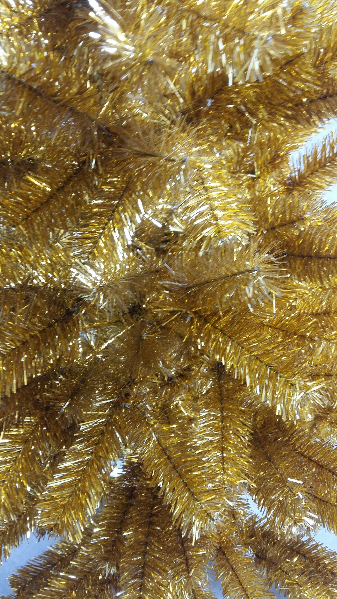 Kunstkerstboom Silhouette Gold 180 cm