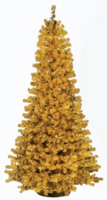 Kunstkerstboom Slimline goud 270 cm