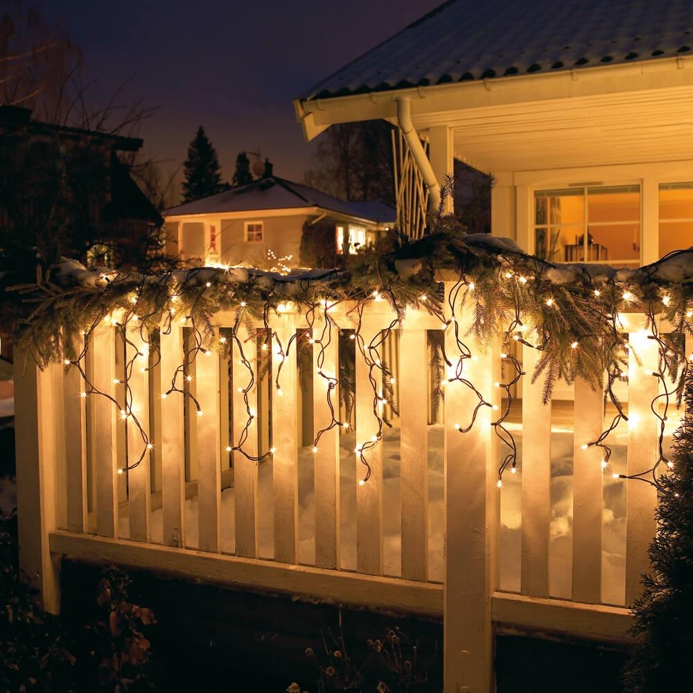 LED icing, 24 meter x 55 cm, super warm wit