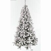 Kunstkerstboom besneeuwd/whiteflock 300 cm