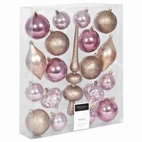 Kerstboom decoratie set 19 delig goud