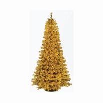 Kunstkerstboom Slimline goud 150 cm