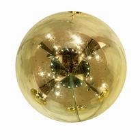 Kerstballen goud mat