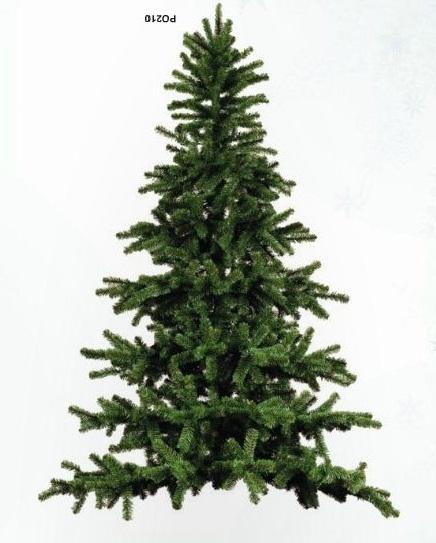 Halve kunstkerstboom / wandmodel