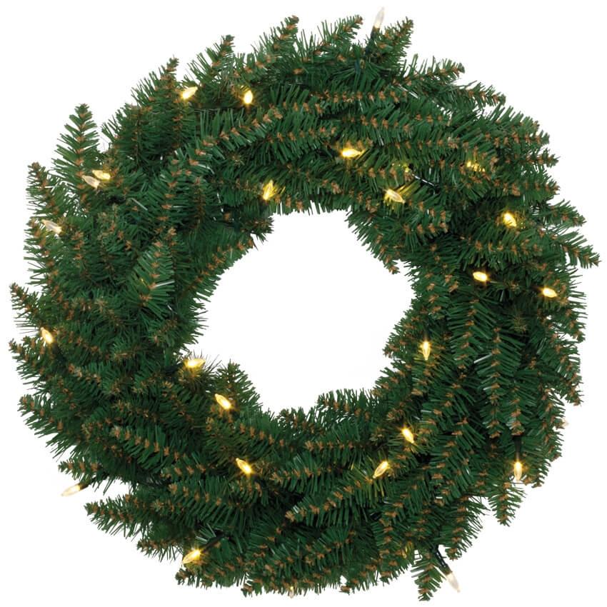Kerstkrans Verlicht