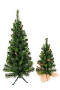 Kleine Kunstkerstbomen
